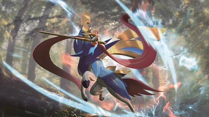 Zacian VMAX Wallpaper