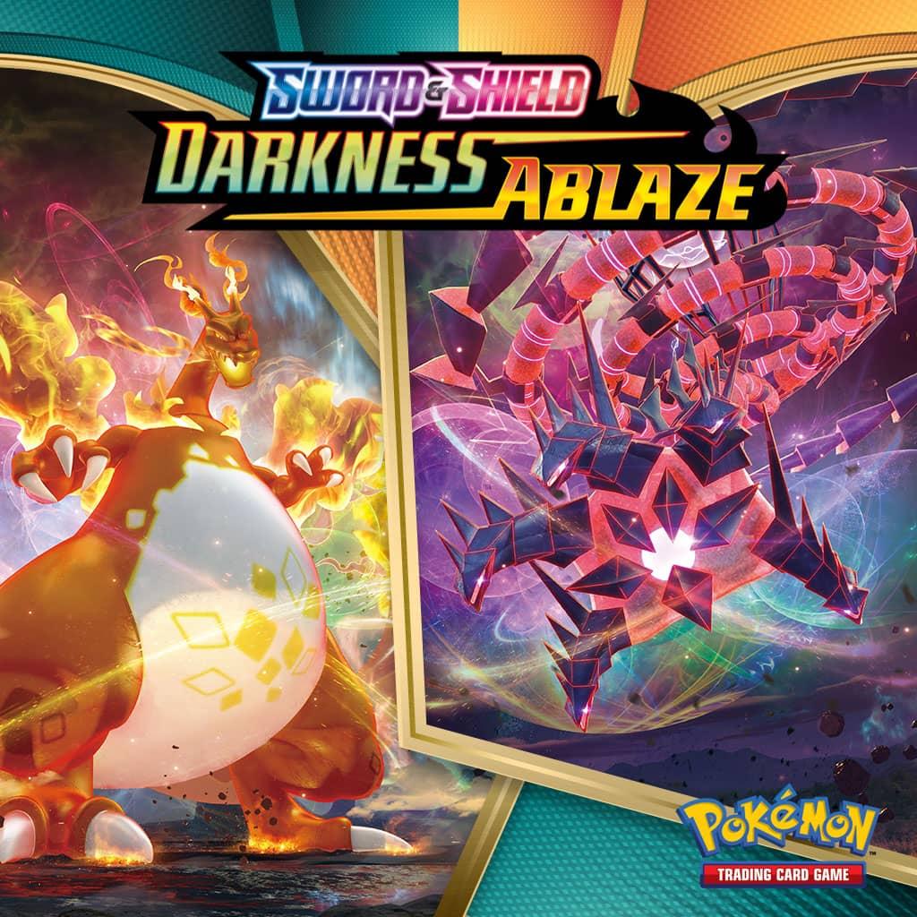 Pokemon Tcg Sword Shield Darkness Ablaze
